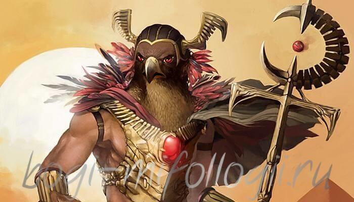 Бог Хорус Египет